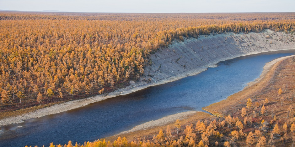 Sibérie fleuve