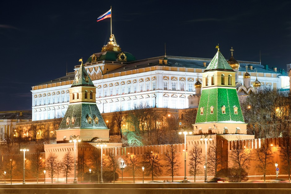 Kremlin la nuit