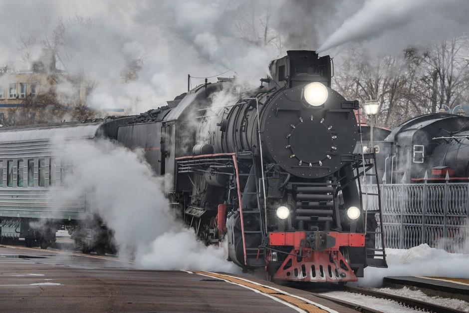 Locomotive rétro
